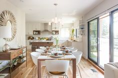 Love It or List It Vancouver: Stephanie & Darrell's new bright, wide open kitchen and dining room!!!