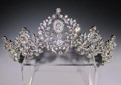 Royal Bridal Tiara by Bridal Styles Boutique, New York Royal Crowns, Royal Tiaras, Crown Royal, Tiaras And Crowns, British Crown Jewels, Diamond Tiara, Royal Jewelry, Circlet, Bridal Tiara
