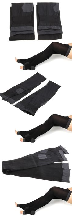 [Visit to Buy] Women Overnight Slimming Burn Socks Stockings Leggings Tights Black #Advertisement