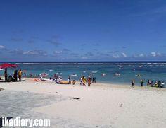 Activity at Pantai Pandawa