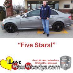 """Five Stars!""  Scott"