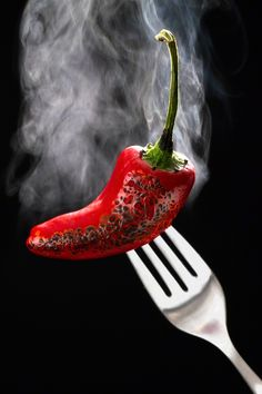 Steamy Pepper by Nicole S. Young, via 500px