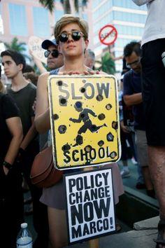 Image result for florida gun protest