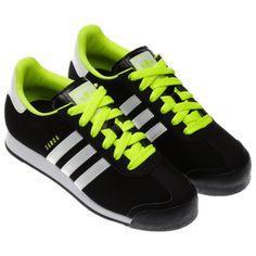 adidas samoa green and black