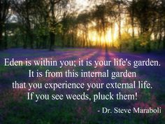 Pluck those weeds quickly, the longer you let them grow the harder it becomes to remove them.