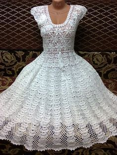 liveinternet ru images attach c 9 105 230 jpg This Pin was discovered by Jos hand-made crochet dress Crochet Wedding Dresses, Crochet Summer Dresses, Lace Homecoming Dresses, Pull Crochet, Crochet Lace, Crochet Blouse, Knit Dress, Crochet Motifs, Crochet Patterns