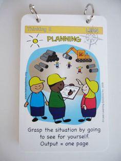 lean tools pocket cards planning