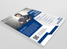 Flyer for Corporate Business-V53 by Template Shop on @creativemarket
