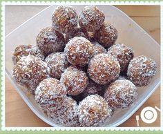 Rezept Süße Energiekugeln ayurvedisch von Kikili2711 - Rezept der Kategorie Backen süß