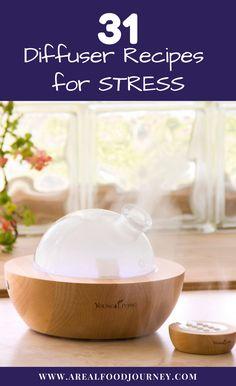 Diffuser recipes for stress