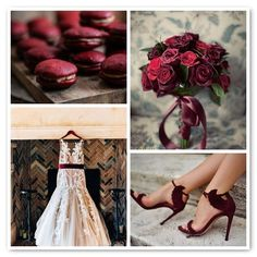 Pantone Color of the Year: Marsala Wedding Inspiration. #Pantone #Marsala #wedding