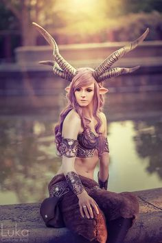 Warrior Faun by Luka Costume Artist Photo by Ragnara Fotografie