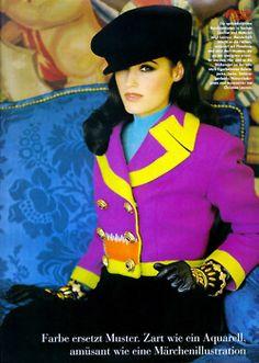 Vogue Germany, July 1992 Yasmin