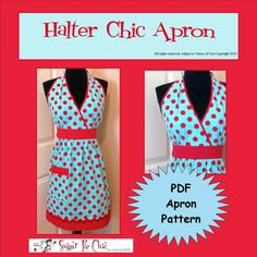 I'm looking for a cute apron pattern...this may be it!