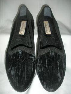 Wilkes Bashford velvet slip on. I go crazy for velvet ! GFA