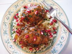 Bloatal Recall: Georgian Chicken in Pomegranate and Tamarind Sauce...