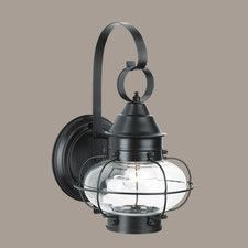 Cottage Onion Small 1 Light Outdoor Wall Lantern