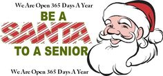 Seniors Santa -Giving Back To Our Seniors!!!! Check us out on the web also and see our great sponsors and more www.seniorsanta.ca
