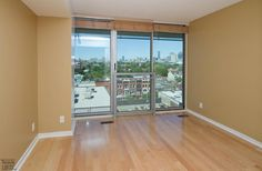 District Lofts-388 Richmond St W #717  | 800+/- sf Demand 2 level, 2 bedroom thru-suite with dual North & South exposures & private balcony! Features floor to ceiling windows, upgraded wood floors on both levels + stairs, granite counters with breakfast bar and custom built-in master bedroom closet! Also includes 1 owned pkg. | More info here: torontolofts.ca/district-lofts-lofts-for-rent/388-richmond-st-w-717-1 2 Bedroom For Rent, Toronto Lofts, Lofts For Rent, Master Bedroom Closet, North South, Floor To Ceiling Windows, Granite Counters, Home Ownership, Balcony