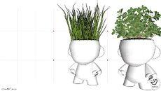 Collection of 3D Models: Vegetação