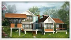 BROOK DALE VILLA 3 BHK COST (MINIMUM 10 CENT LAND & VILLA) Rs. 61,34,000/-
