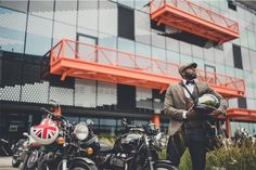 The 2017 Distinguished Gentlemans Ride : London and the Local Gentlefolk