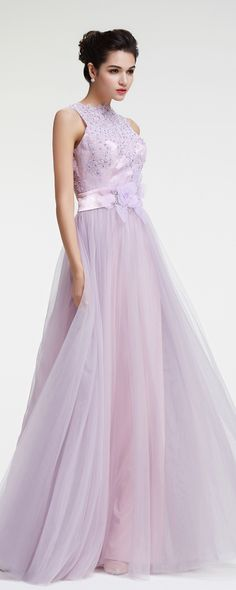 Lavender beaded lace evening dress long bridesmaid dresses elegant formal dresses plus size