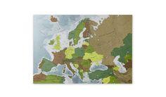 MONOQI | Europe 1 Map - Paper