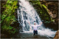 Karma + Weston | Open Ceiling Cave Elopement | Kauai Wedding Photographer | Enchanted Elopements | Meg Bradyhouse Photography Destination Wedding Locations, Destination Wedding Photographer, Open Ceiling, Kauai Wedding, Hands In The Air, Kauai Hawaii, Adventure Photography, Elopements, Beautiful Islands