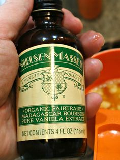 Sweet Potato Casserole with Pecan Crunch Topping and a Nielsen-Massey Extracts Give Away! #HolidayProgressiveDinner | Busy-at-Home