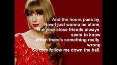 Taylor Swift - The Moment I Knew (Lyrics)