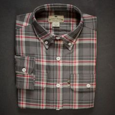 Glenfield Flannel Shirt - Barnwood Plaid by Buffalo Jackson