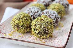10 minutes a week - Raw Chocolate Orange Truffles! Vegan & Gluten Free!