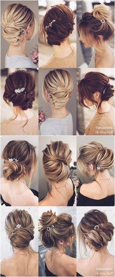 Tonya Pushkareva Long Wedding Hairstyles and #updos #weddings #weddingideas #hairstyles