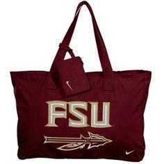 Nike Florida State Seminoles (FSU) Ladies Garnet Play Tote Bag