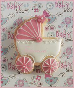 Galleta carrito, baby carriage cookie #cookie www.tutururus.blogspot.com.es