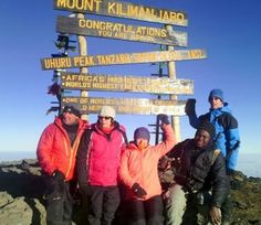 Mt #Kilimanjaro success at the summit