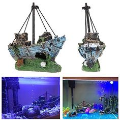 It is really quite cute! Your fish will love the pirate ships and this really is quite fetching. It makes the tank look a lot more fun and the fish were really curious about it too. The edges of the ...