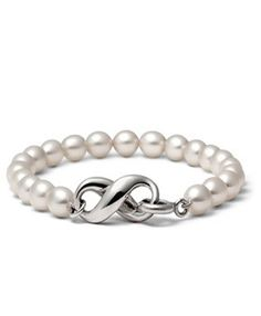 Tiffany & Co Outlet Cultured Freshwater Pearl Bracelet