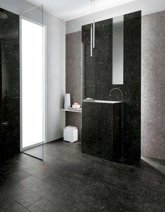 Mirage Na.me Noir Belge | Stone Look Tile | Available at Ceramo Tiles