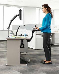 24 best cubicle comfort workout images in 2019 desk cube decor rh pinterest com