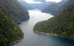 Fiordos, Chile