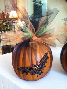 Halloween Decor Halloween Centerpiece Faux by GreatwoodFlorals