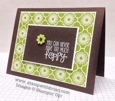 handmade card ... Yippee-Skippee, Stampin' Up!, Brian King, TCC5 ... like the crisp look ... black, green and white ...
