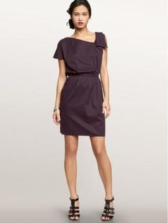 Deep purple cotton dress from the GAP; purchased 6/11
