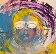 Beginne mit der Sammlung von Werken für die kommende Ausstellung GENERATIONSKONFLIKT Painting, Art, Oil On Canvas, Kunst, Art Background, Painting Art, Paintings, Performing Arts, Painted Canvas