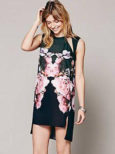 Free People Kaleidoskope Cutout Dress, $220.00