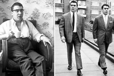 Kray Twins: Criminal's bond with pop star over 'identity struggle' exposed Bombshells, Crime, Bond, Identity, Twins, Interview, Suit Jacket, Stars, Sterne