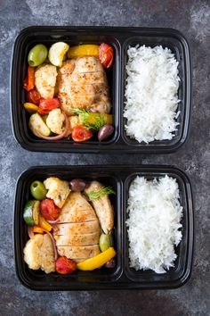 Healthy Meal Prep, Healthy Eating, Healthy Recipes, Mediterranean Chicken, Meal Prep For The Week, Love Food, Meal Planning, Clean Eating, Dinner Recipes