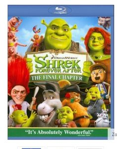 Shrek Forever After Blu-Ray 3D (or 2D Standard) $3.50 with FREE Shipping! Disc 4 Shrek Forever After Blu Ray 3D pulled from the full Collection set of Shrek. Prin…